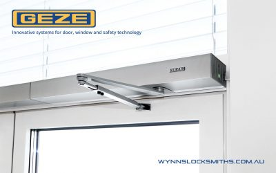 GEZE Closers at Wynns Locksmiths
