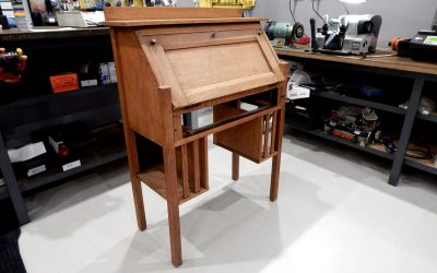 Retro Writing Cabinet