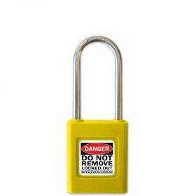 Total Lock Safety Padlock Yellow
