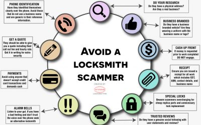 Watch out for scam locksmiths